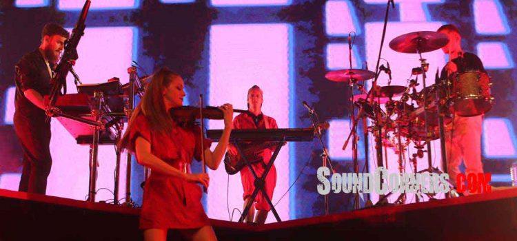 Personil Tidak Lengkap, Konser Clean Bandit Tetap Membludak