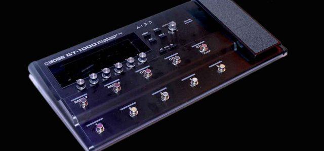 BOSS GT-1000 : Kualitas Nada Terbaik dari Teknologi Boss