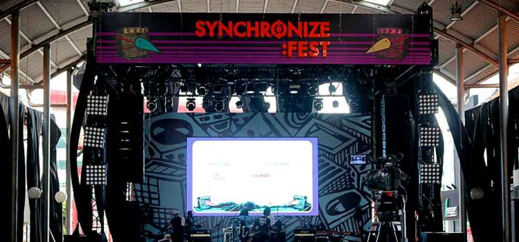 Distrik Stage Syncronize fest 2018