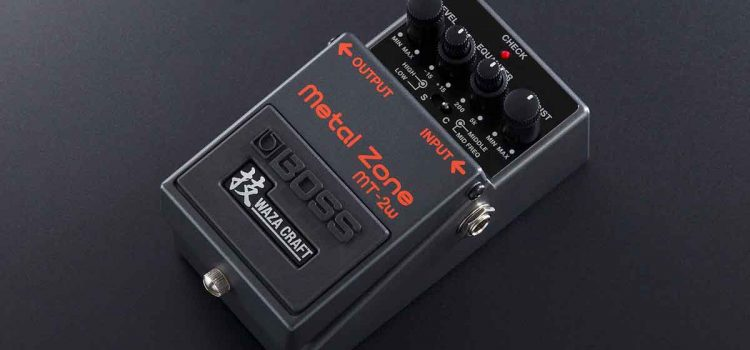 Boss MT-2W Waza Metal Zone Distortion: Saatnya Update Pedal Distorsi dengan Nada High-Gain yang Fleksibel