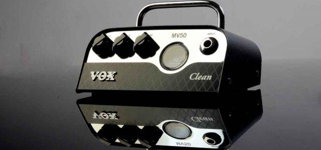 Vox MV50 Clean: Ampli Kecil Berteknologi Nutube