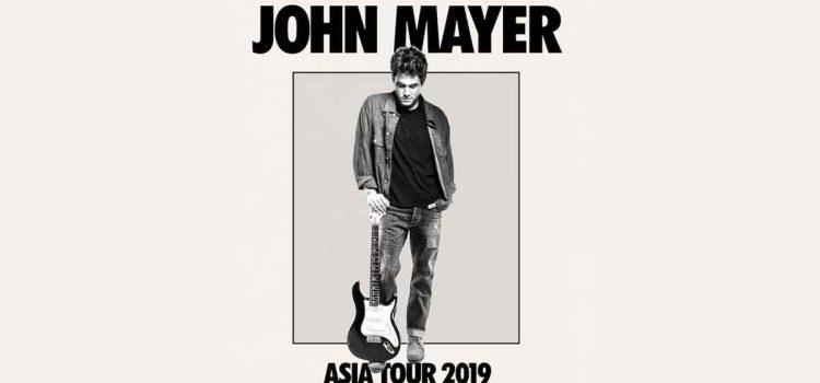 Dapatkan Tiket Konser John Mayer World Tour 2019 Jakarta Mulai 25 Januari 2019