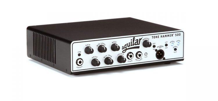 Aguilar Tone Hammer 500: Head Amp 500 Watt yang Pas di Gig Bag!