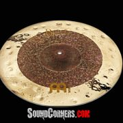 Meinl Cymbals Byzance Extra Dry Dual Crash Cymbal: Crash and Ride Dalam 1 Cymbal