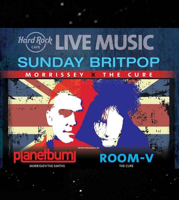 'Sunday Britpop, The Cure x Morrissey'