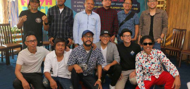 Ketje Flashback The 90'S Music Ancol Bertabur Band Lawas