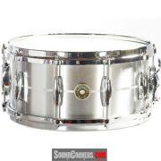 "Gretsch USA Solid Alumunium Snare 14""x6.5"": Snare Bagi Pecinta 70's Rock"