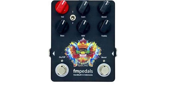 Fmpedals Barong Heavy Distortion: Distorsi Lokal Paling Berbahaya