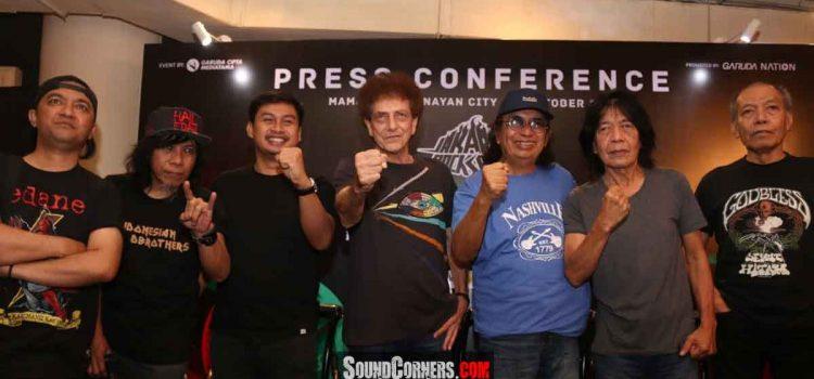 Garuda Nation Gelar Konser Jakarta Rock Space Hadirkan Godbless, Jamrud, NTLR dan Edane.