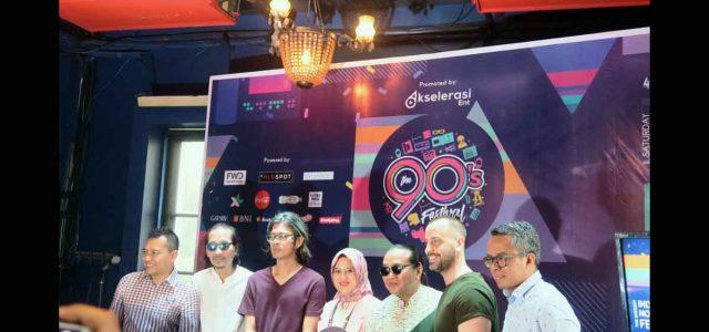The 90's FESTIVAL : Edisi Ke-4 Ajang Silaturahmi dan Temu Kangen Musisi 90an dengan Paket Lengkap