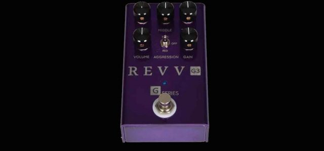 Revv G3 Preamp/Overdrive/Distortion: Pedal Multifungsi dari Revv