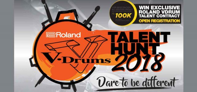Roland VDRUM Talent Hunt 2018