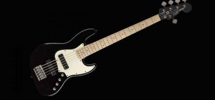 Squier Contemporary Active Jazz Bass V HH: Bass 5 senar modern dengan Pembentukan Nada Aktif yang Serbaguna