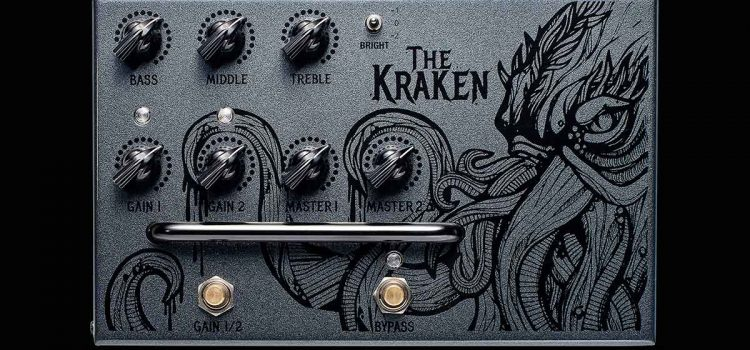 "Victory V4 Pedal Preamp ""The Kraken"": Preamp tabung pengganti ampli tabung"