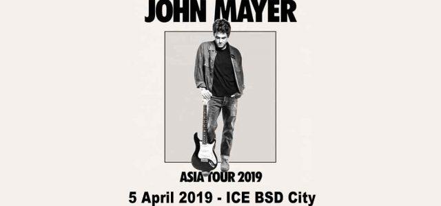 Penambahan Persediaan Tiket John Mayer World Tour 2019 dari Promotor