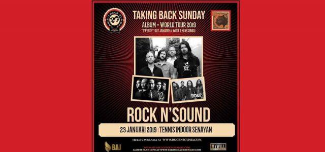 "Show Di Jakarta, Taking Back Sunday Akan Bawakan Full Album Diskografi 'Twenty"""