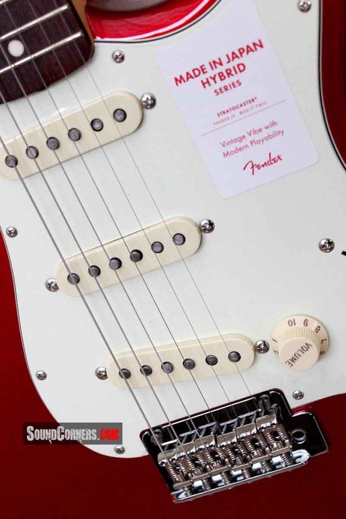 Fender Japan Hybrid 60s Stratocaster: Kolaborasi Hardware
