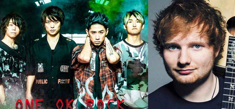 """Ed Sheeran Divide World Tour 2019 Jakarta Resmi mengumumkan """"ONE OK ROCK"""" sebagai Supporting Act"""
