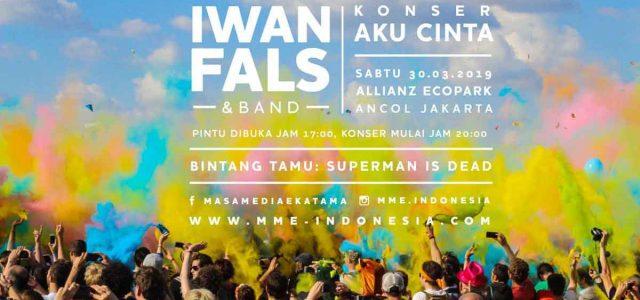 Konser Cinta Iwan Fals Diramaikan Musisi Milenial