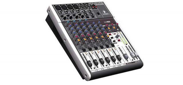 Behringer XENYX1204usb: Mixer Mini untuk Live Gig dan Recording