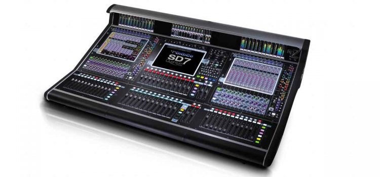 Digico SD7 Quantum: Digital Mixing Console dengan Teknologi Terbaik