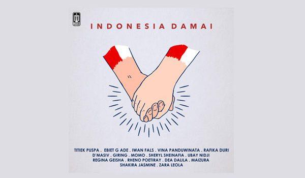 """Pesan """"Indonesia Damai"""" di Sampaikan 5 Generasi Musisi"""