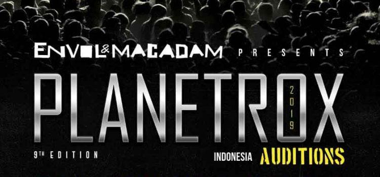 Audisi Band PLANETROX 2019 Pilih Satu Band Indonesia untuk Di Terbangkan Ke Quebec, Canada