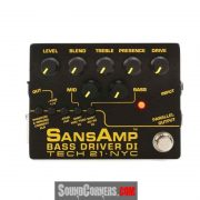 Tech 21 Sansamp Bass Driver DI: Merubah Sound Bass Murah Terdengar Mahal