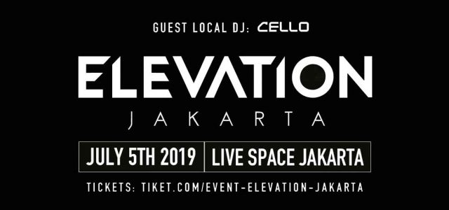 Elevation Festival Dance Musik Akan Berlangsung Di Jakarta