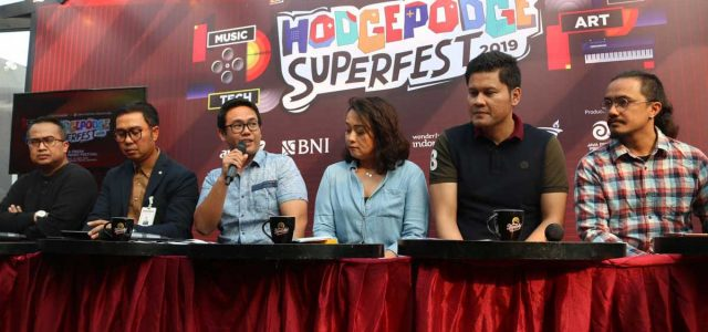 HODGEPODGE SUPERFEST 2019 : Line Up Ciamik All Genre Music Festival