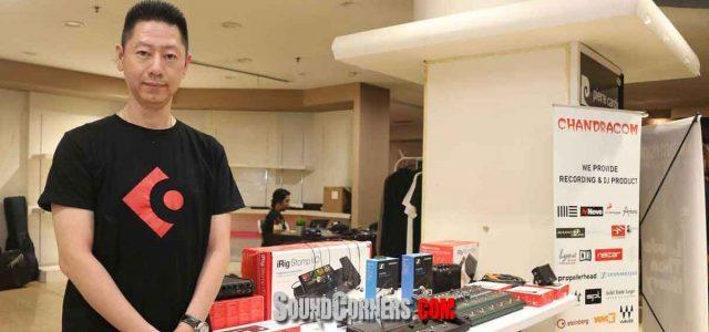 Guitar Experience 2019 : Chandracom kenalkan Virtual Amp Controller