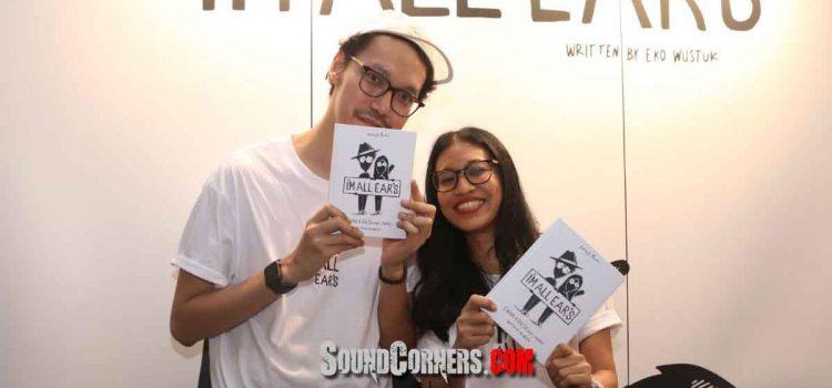 """Endah N Rhesa Rayakan 15 Tahun Berkarya Dengan Meluncurkan Buku """"Iam All Ears"""""""