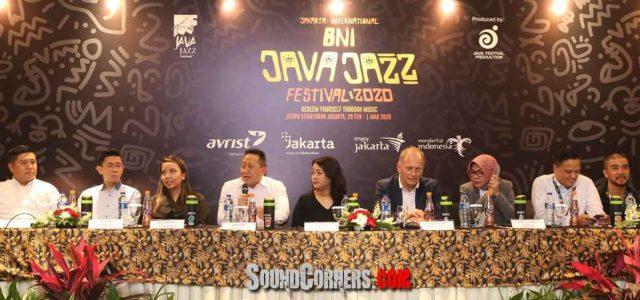 BNI JAVA JAZZ FESTIVAL 2020 Dipenuhi Musisi Internasional