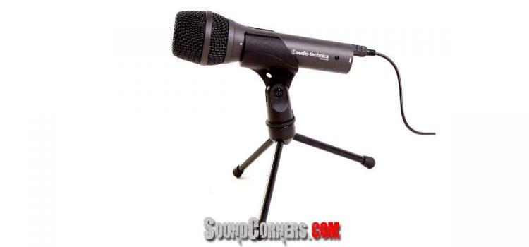 Rekam Vokal Tanpa Sound Card dengan Microphone Audio-Technica AT2005USB
