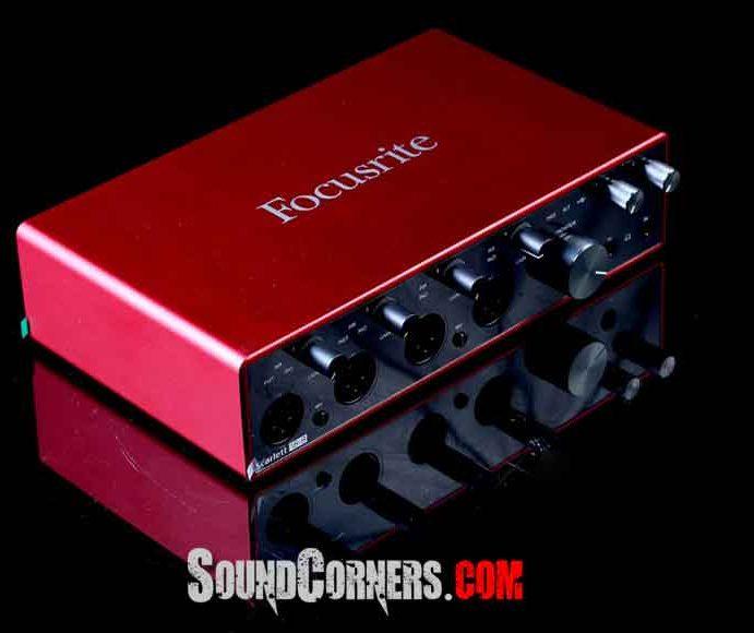 Focusrite Scarlett 18i8 3rd Gen. Audio Interface Generasi Baru Dari Si Merah