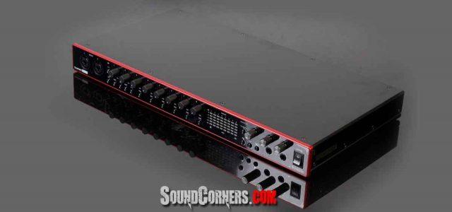 Focusrite Scarlett 18i20 3rd Gen. Audio Interface Rack Dengan Built-in Talkback