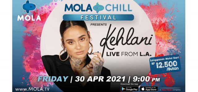 Peraih Nominasi Grammy Awards Kehlani tampil di Mola Chill Festival Bersama Musisi Populer Indonesia
