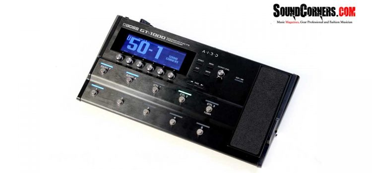 Boss GT1000: Efek Digital Berteknologi AIRD