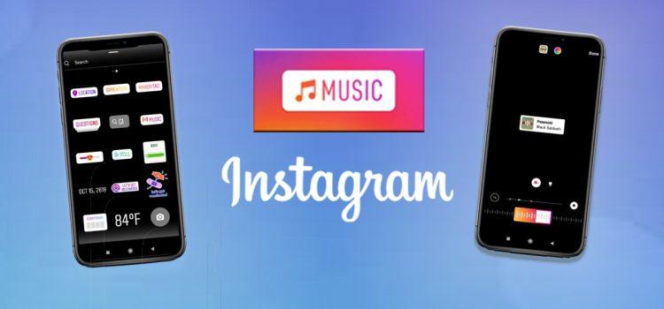 Akhirnya Instagram Music Tersedia di Indonesia